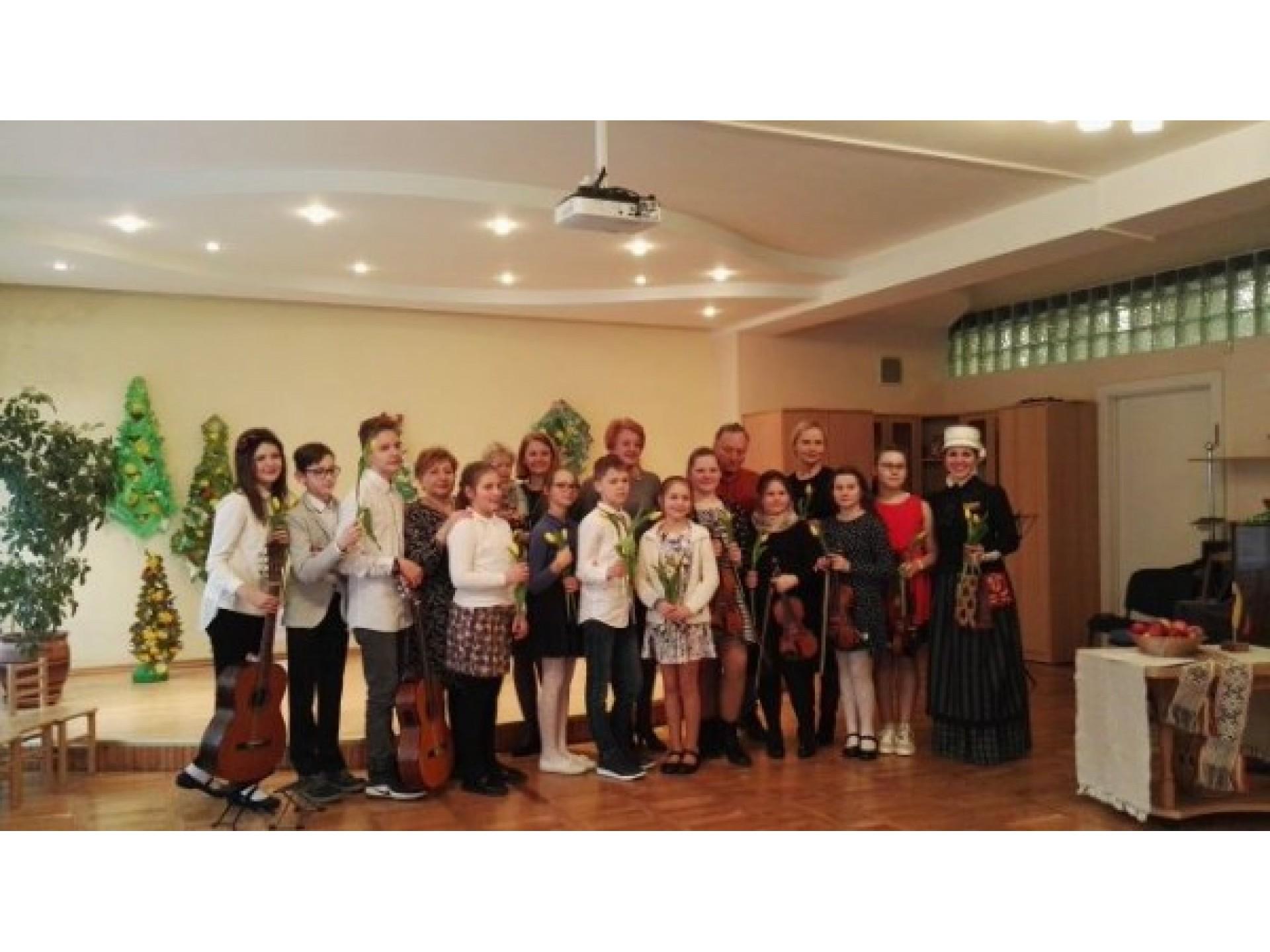 Jeronimo Kačinsko muzikos mokyklos mokinių koncertas, skirtas Kovo 11-ajai paminėti