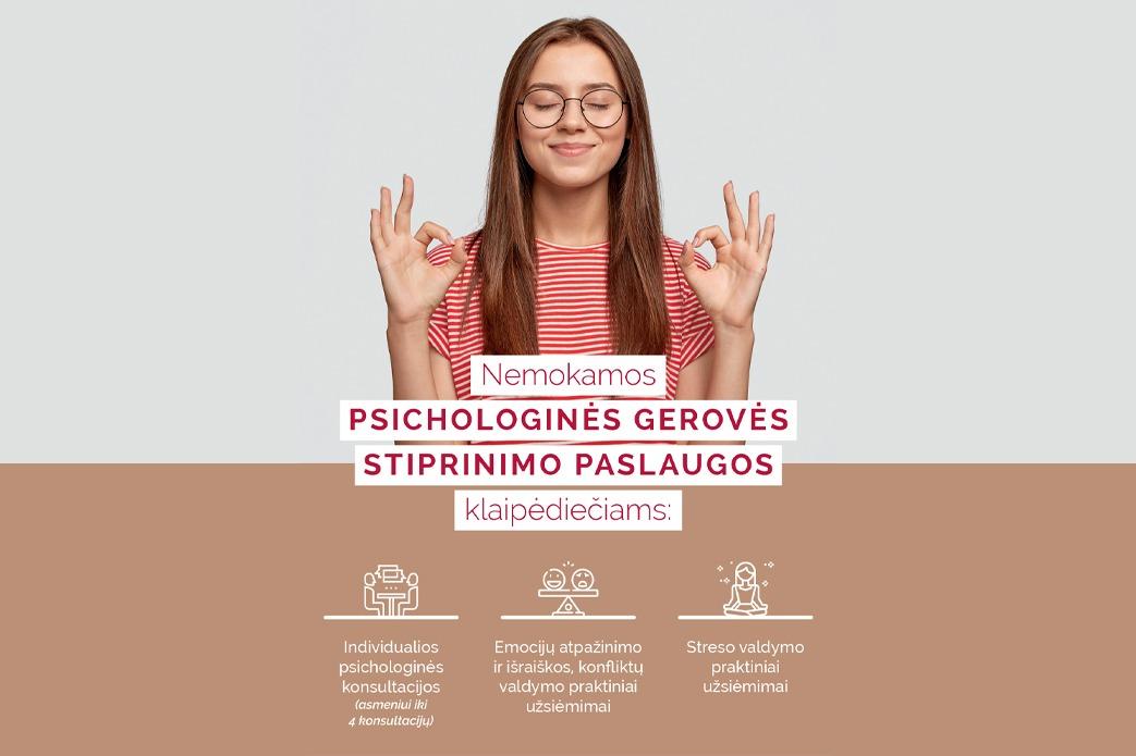 Psichologinės gerovės stiprinimo paslaugos