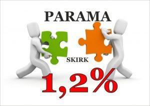1,2 % PARAMA